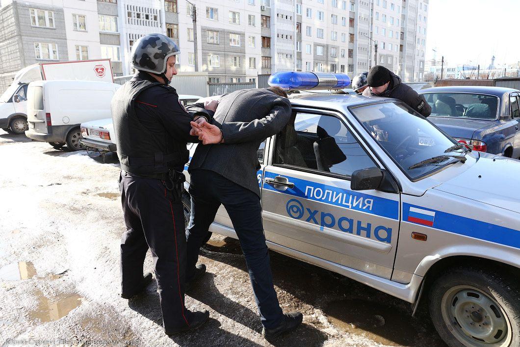 полиция ловит бандитов